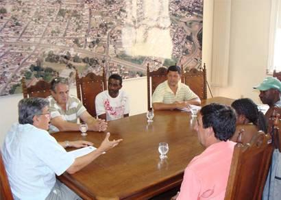 Associação pede apoio do prefeito para a realização da Festa em Louvor a Filomena