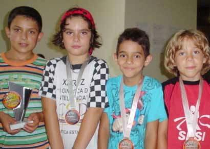Bernardo Parolini é vice-campeão mineiro de xadrez