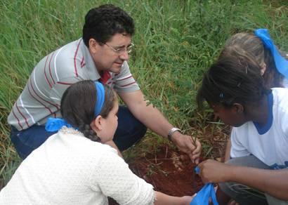 Sala Verde promove várias atividades de educação ambiental