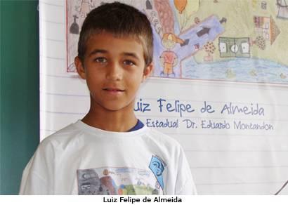 Araxaense se destaca em concurso de desenho do governo de Minas