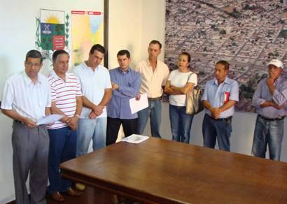 Representantes de associações rurais se reúnem com o prefeito