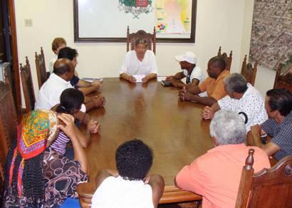 Representantes solicitam apoio da prefeitura para Festa de Congado
