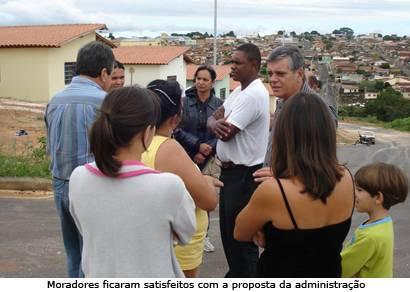 Prefeitura promete ajuda aos moradores do PSH