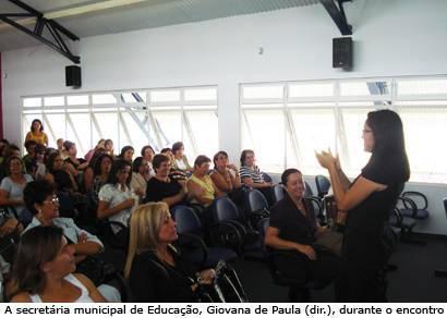 Secretaria promove capacitação para educadores municipais
