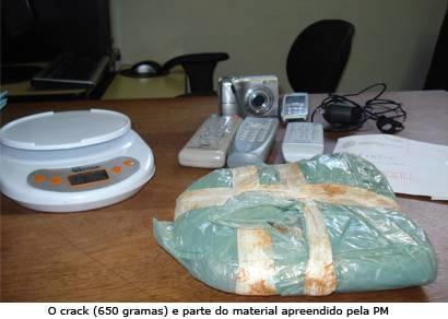 PM prende um dos principais suspeitos de tráfico de Araxá