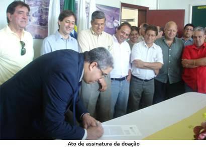 Governo federal doa área do Dnit para ampliação do Cefet-MG/Araxá
