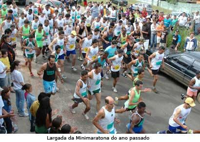 Minimaratona comemora Festa do Trabalhador