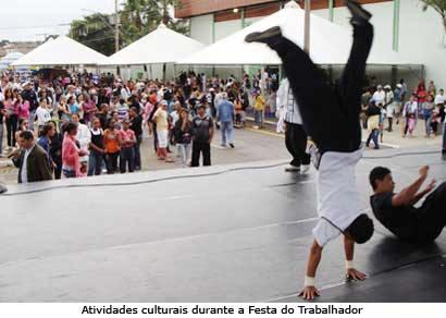 Festa do Trabalhador traz diversas atrações à comunidade