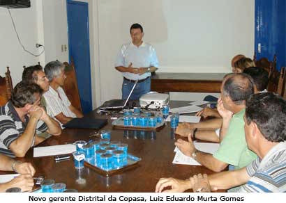 Novo gerente da Copasa explica tarifas das contas de água