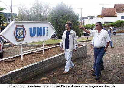 Prefeitura inicia reforma da Unileste