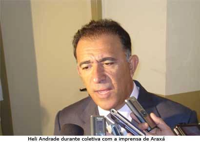 Heli Andrade assume a 43ª Delegacia Regional de Polícia Civil de Araxá