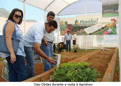 Secretaria de Desenvolvimento Rural participa da Agrishow 2009
