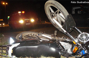 Agente penitenciário morre em acidente de moto na BR-262