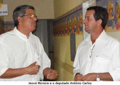 Jeová Moreira e deputado Antônio Carlos Arantes se reúnem com secretários
