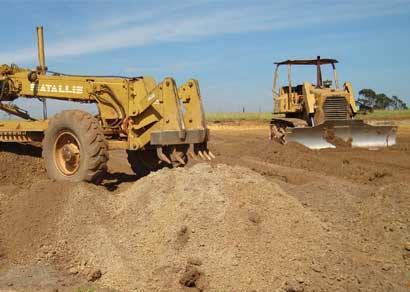 Prefeitura inicia terraplanagem na futura engarrafadora da Água Mineral Araxá