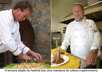 Começa o Festival Internacional de Cultura e Gastronomia de Araxá