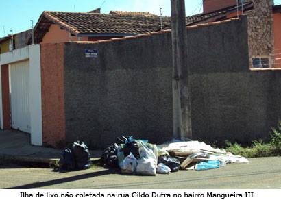 Prefeitura ainda encontra problemas para coletar o lixo