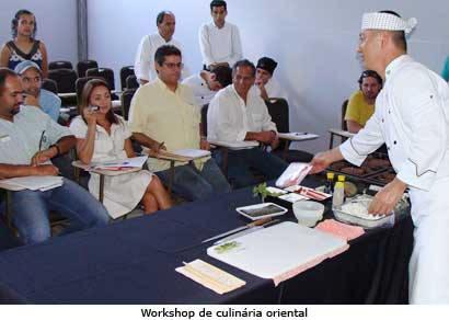 Exposições e workshops destacam o segundo dia do Festival de Gastronomia