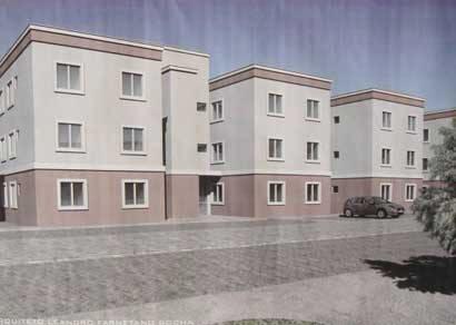 Prefeitura inicia construção de 180 apartamentos populares no segundo semestre