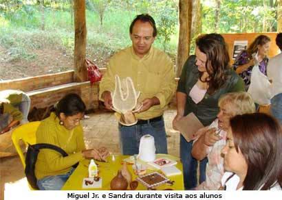 Miguel Jr. destaca cursos ministrados na Casa do Pequeno Jardineiro