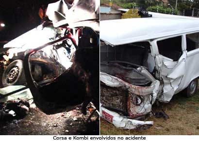 Sobe para dez o número de mortes em acidente