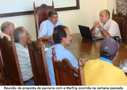 Jeová Moreira anuncia parceria com a Marfrig Alimentos