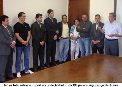 Jeová Moreira garante convênio com a Polícia Civil
