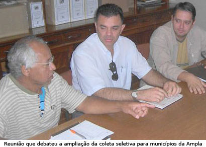 Coleta seletiva pode ser estendida a municípios da Ampla