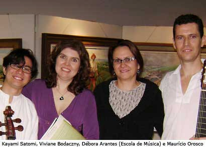 Araxá recebe instrumentistas do Intercâmbio Musical da UFU