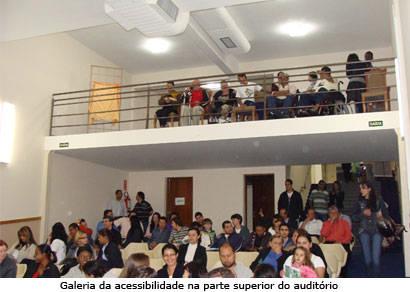 Acia inaugura reestruturações para acessibilidade em sua sede