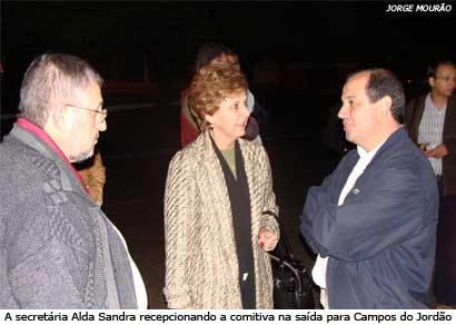 Comitiva araxaense participa de visita técnica em Campos do Jordão