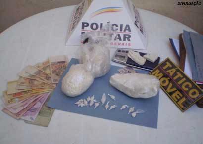 Alvorada é novamente alvo de tráfico de drogas