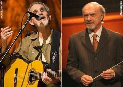 Renato Teixeira e Orquestra Júlio Medaglia vão se apresentar em Araxá
