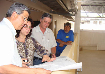 Nova sede da Escola Luiza de Oliveira Faria fica pronta em agosto