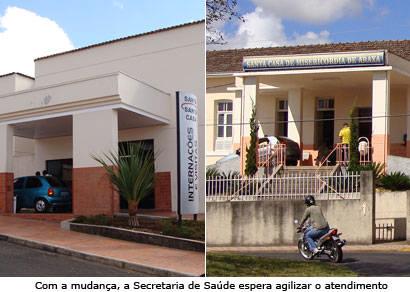 Santa Casa divide atendimentos com inauguração de novas portarias