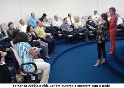 Trade turístico discute problemas durante encontro com a secretária Alda Sandra