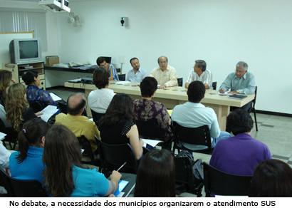 Saúde da microrregião é discutida em Araxá