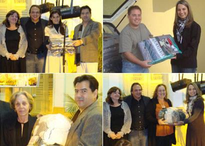 Campanha arrecada cinco toneladas de agasalhos