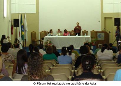 Fórum define ala não-governamental do Conselho Municipal de Assistência Social