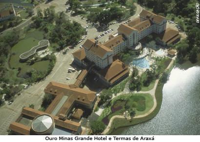 Média de ocupação hoteleira em Araxá é destaque no Estado