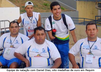 Equipe Paraolímpica do Uniaraxá conquista 27 medalhas em seletiva na capital federal