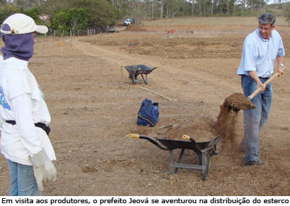 Produtores iniciam os primeiros plantios do Cinturão Verde