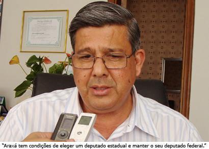 Jeová pede consenso para que Araxá tenha um candidato a deputado estadual