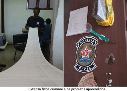Polícia Civil prende acusado de tráfico com mais 2 kg de maconha