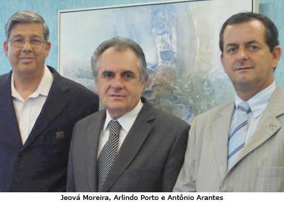 Jeová e Arantes se reúnem com representantes da SES e Cemig