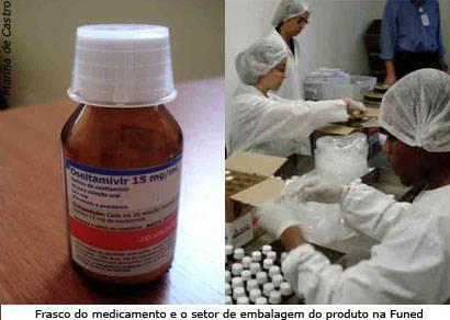 Minas já produz remédio para tratamento da Influenza A