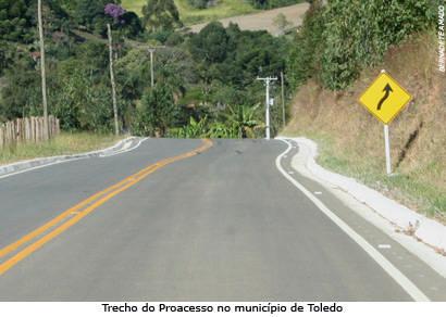 Proacesso atinge 2,9 mil quilômetros pavimentados