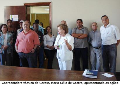 Prefeito se reúne com presidentes de sindicatos e representantes do Cerest