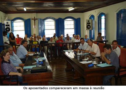 Legislativo aprova verba de R$ 190 mil para a sede prórpria da Associação dos Aposentados