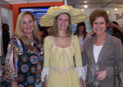 Alda Sandra busca informações para o incremento do turismo de Araxá